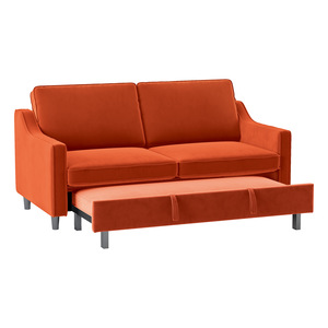Convertible Studio Sofa with Pull-out Bed/9428RN-3CL