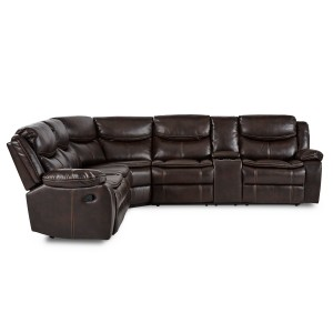 3-Piece Sectional with Right Console/8230BRW*SC